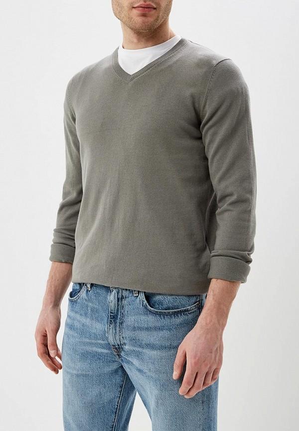 мужской пуловер celio, хаки
