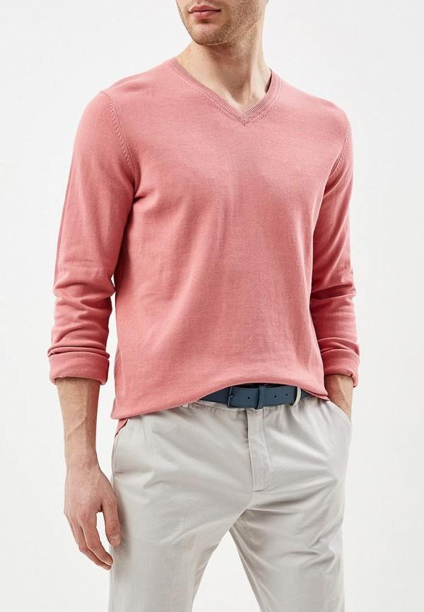мужской пуловер celio, розовый