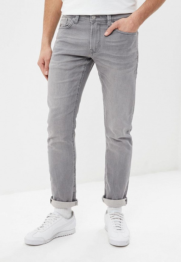 мужские зауженные джинсы celio, серые
