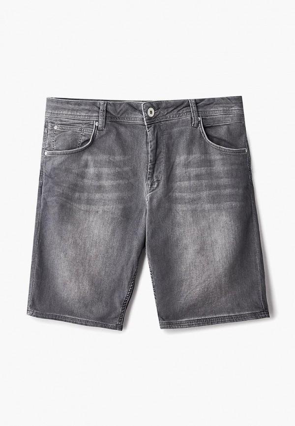 мужские джинсовые шорты celio, серые