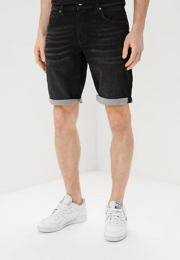 мужские джинсовые шорты celio, черные