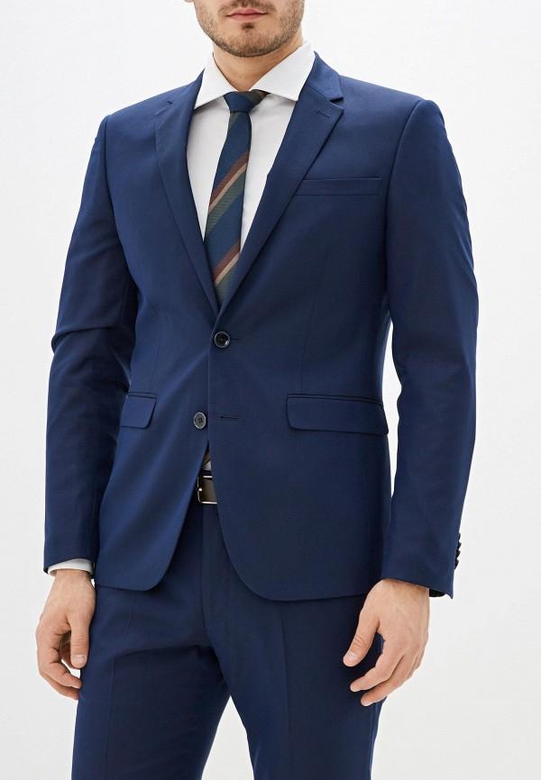 мужской пиджак celio, синий