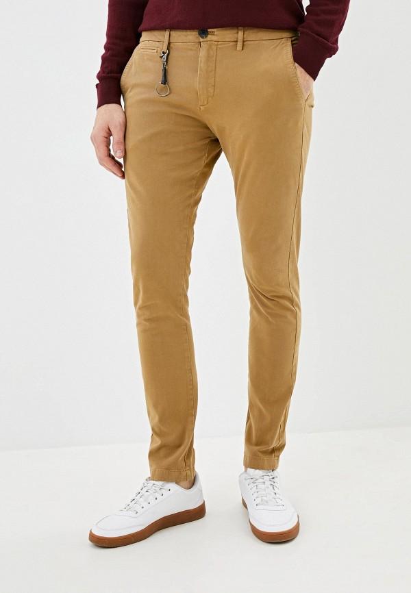 мужские зауженные брюки celio, бежевые