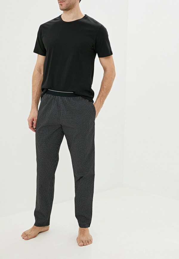 мужская пижама celio, черная