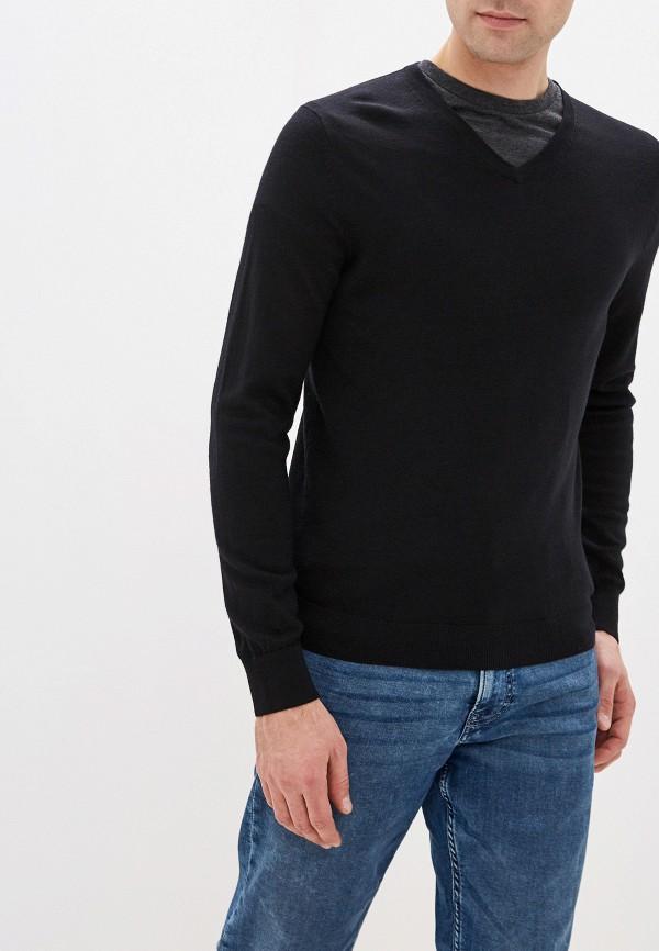 мужской пуловер celio, черный