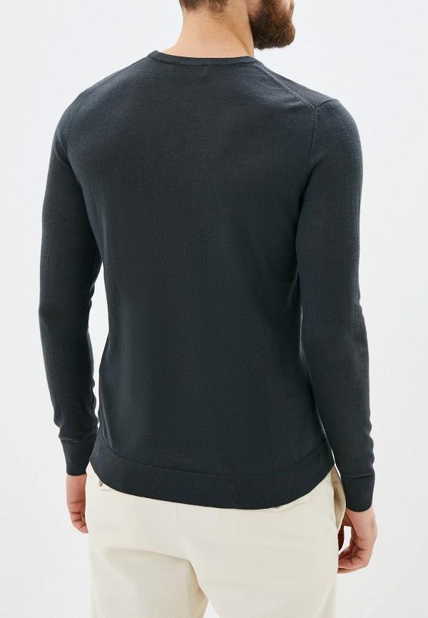 Фото 3 - мужское джемпер Celio серого цвета