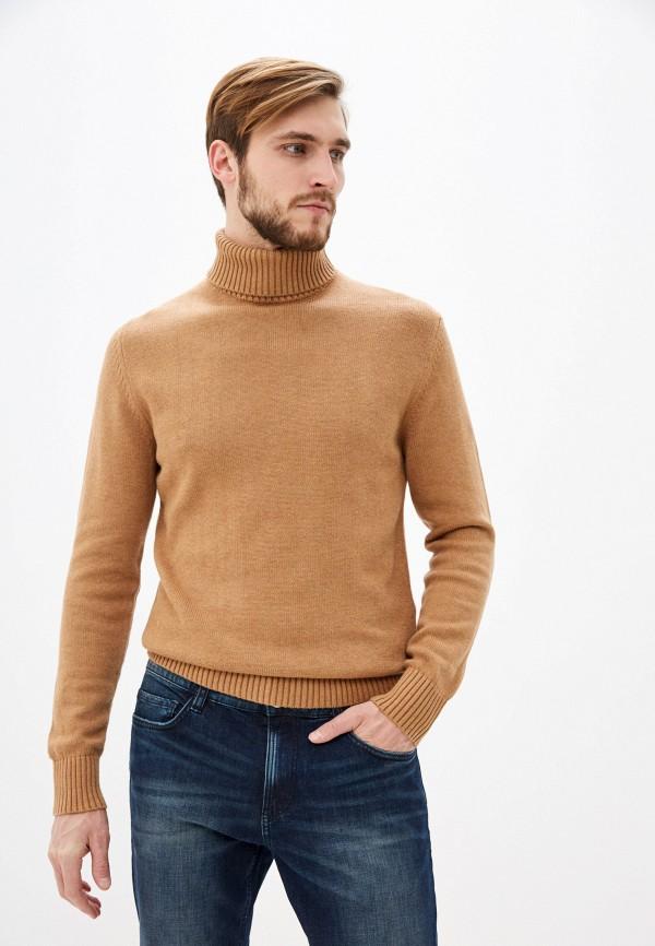 мужской свитер celio, коричневый