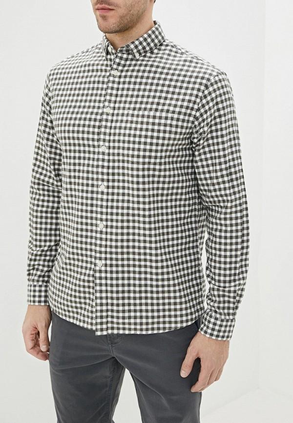 мужская рубашка с длинным рукавом celio, хаки