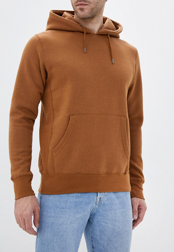 мужские худи celio, коричневые