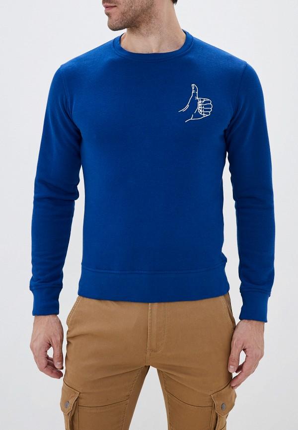 мужской свитшот celio, синий