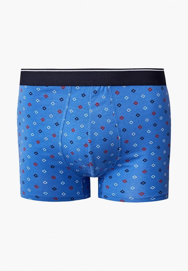 мужские трусы-боксеры celio, синие