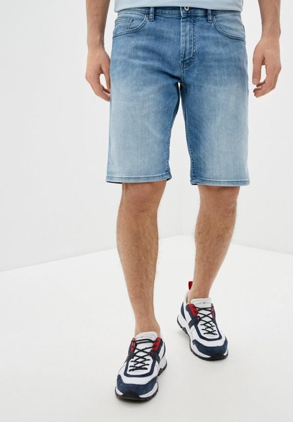 мужские джинсовые шорты celio, голубые