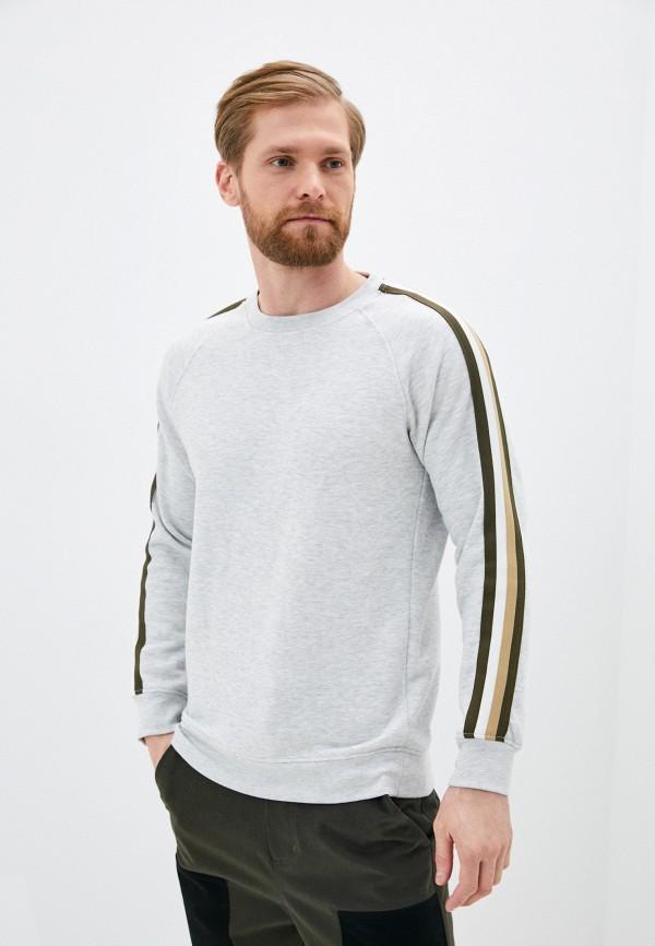 мужской свитшот celio, серый