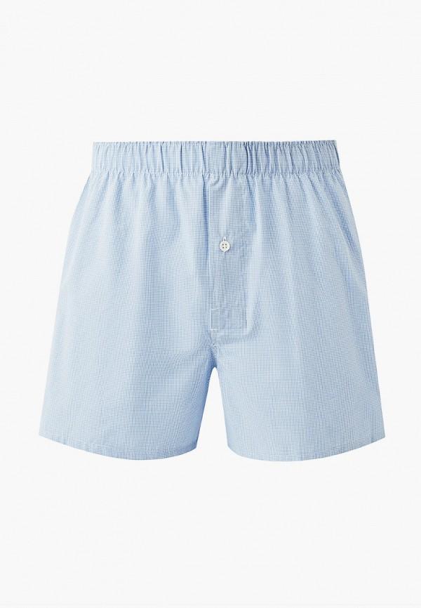мужские трусы-шорты celio, голубые