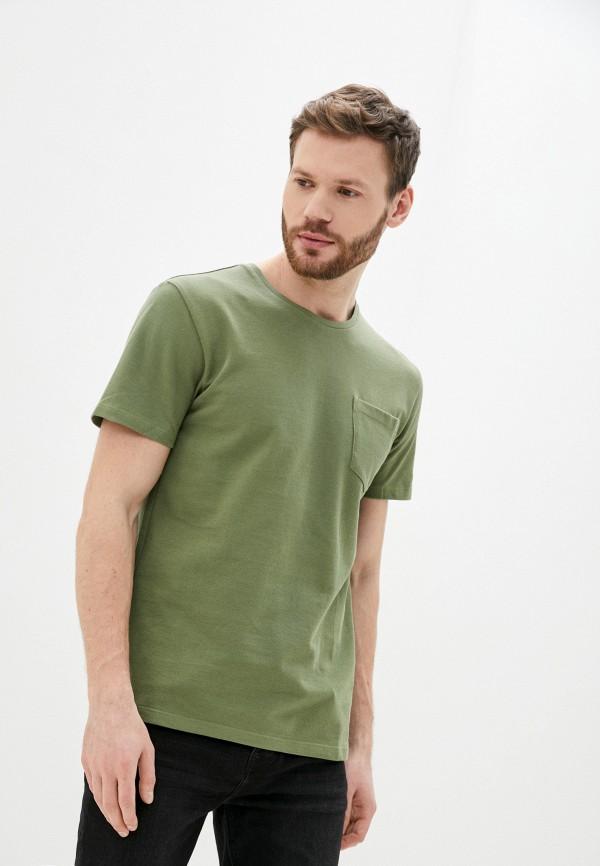 мужская футболка celio, хаки