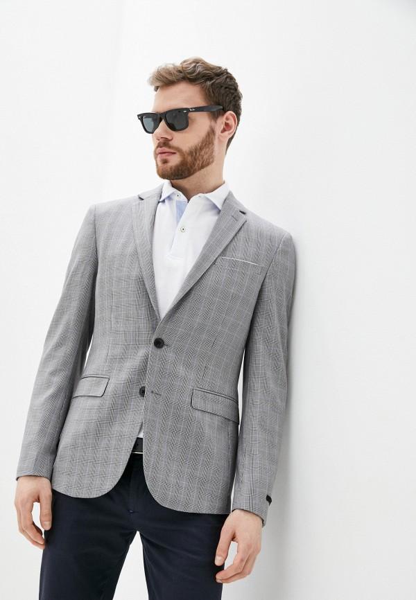мужской пиджак celio, серый