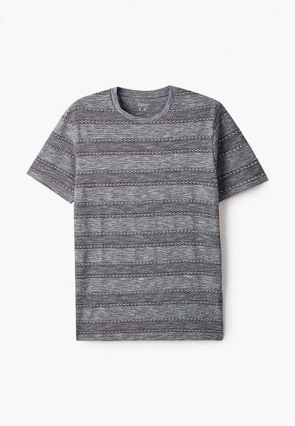 мужская футболка с коротким рукавом celio, серая