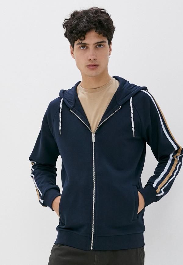 мужская толстовка celio, синяя