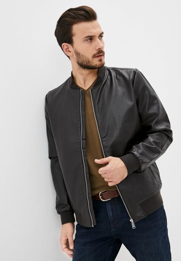 мужская куртка celio, коричневая