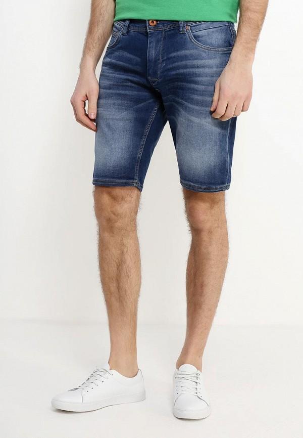 мужские джинсовые шорты celio, синие