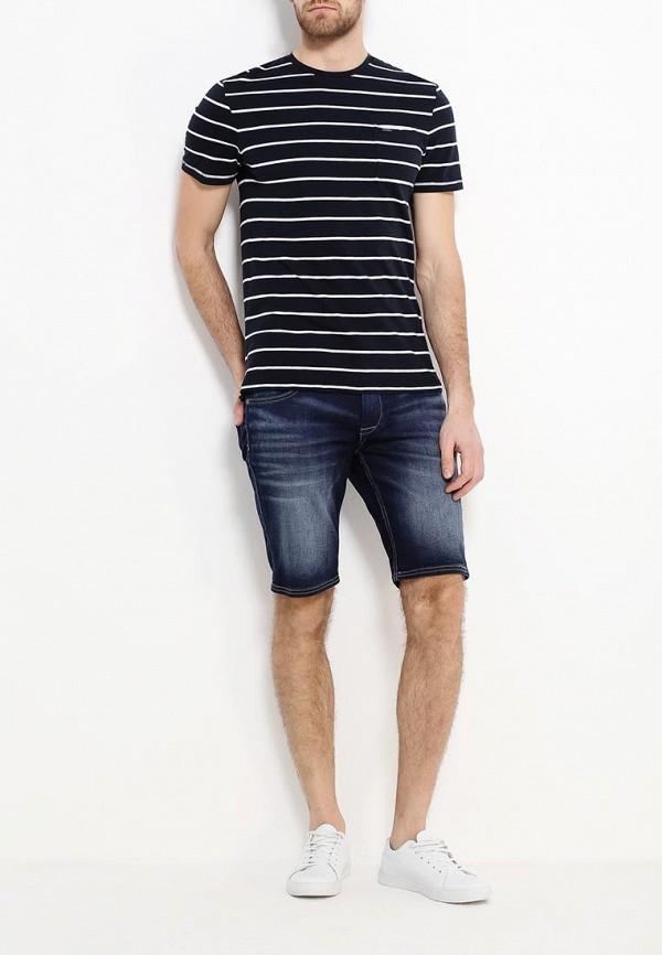 Фото 2 - Шорты джинсовые Celio синего цвета