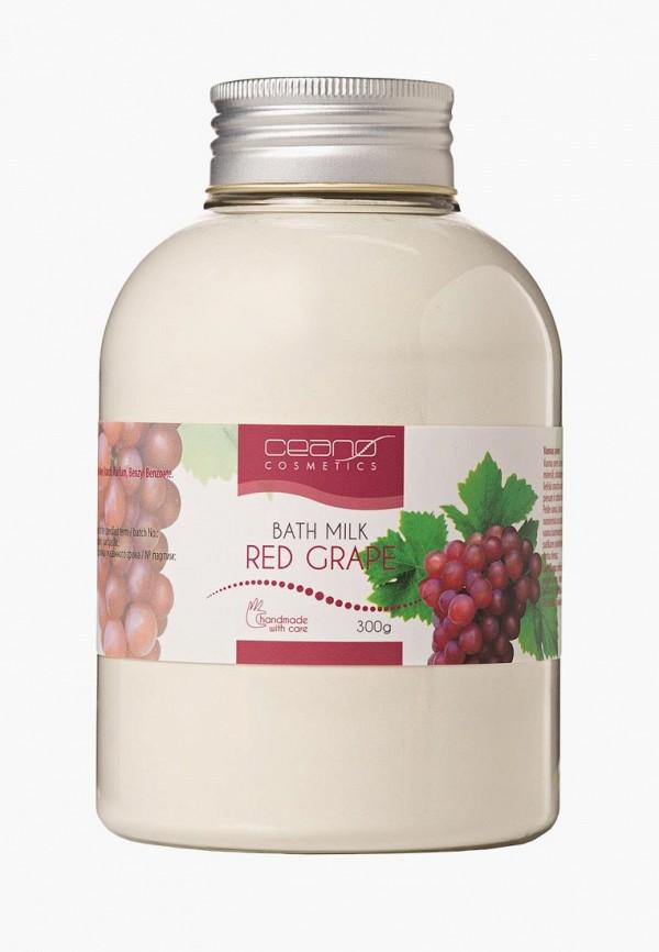 Купить Молочко для душа Ceano Cosmetics, Красный виноград, 300 г, ce013lwayzv3, прозрачный, Весна-лето 2019