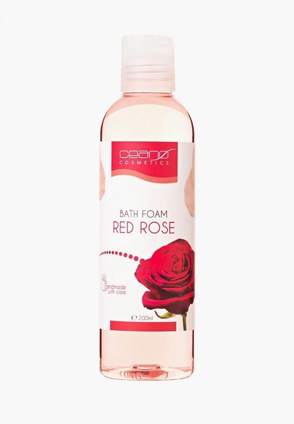 Купить Пена для ванн Ceano Cosmetics, Красная роза, 200 мл, ce013lwayzv9, прозрачный, Весна-лето 2019
