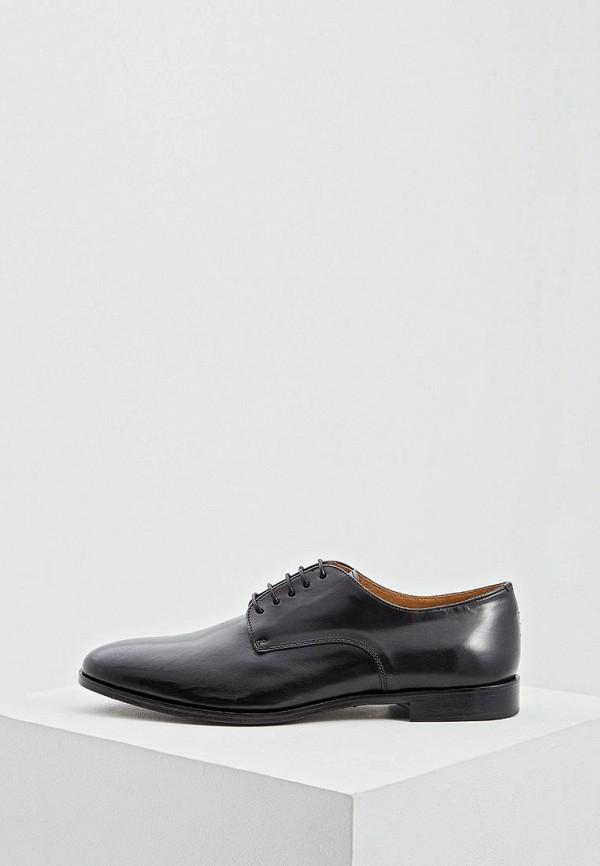 мужские туфли cerruti 1881, черные