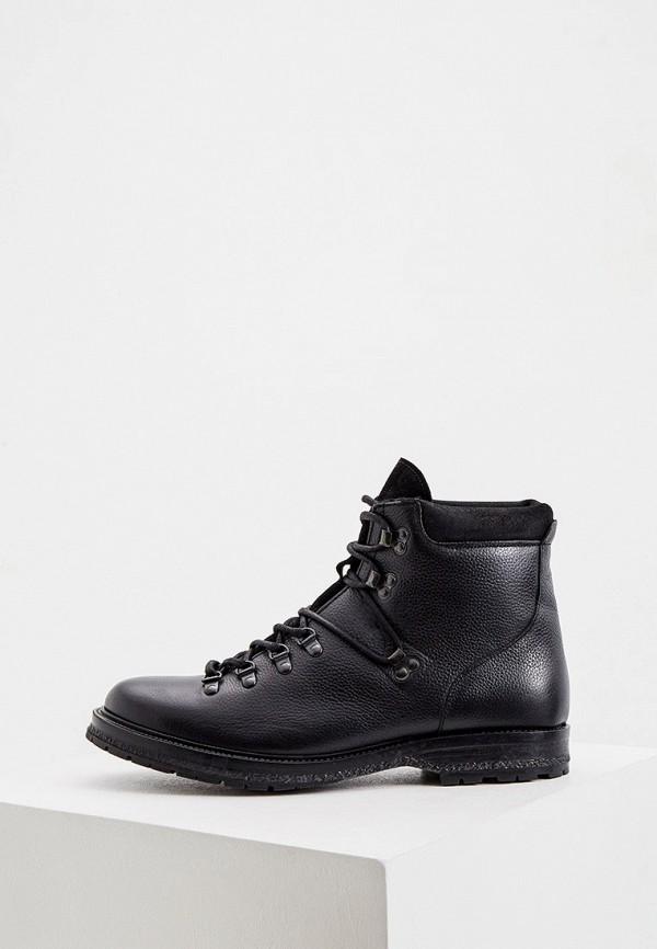 мужские высокие ботинки cerruti 1881, черные