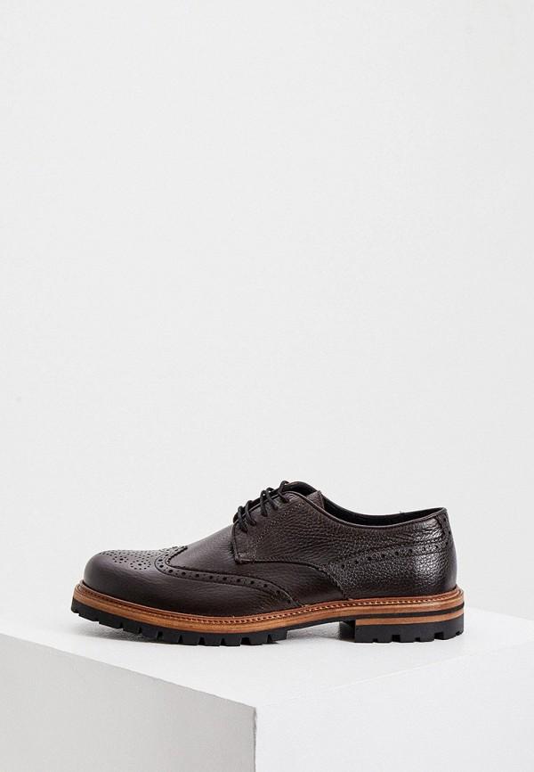 мужские ботинки cerruti 1881, коричневые