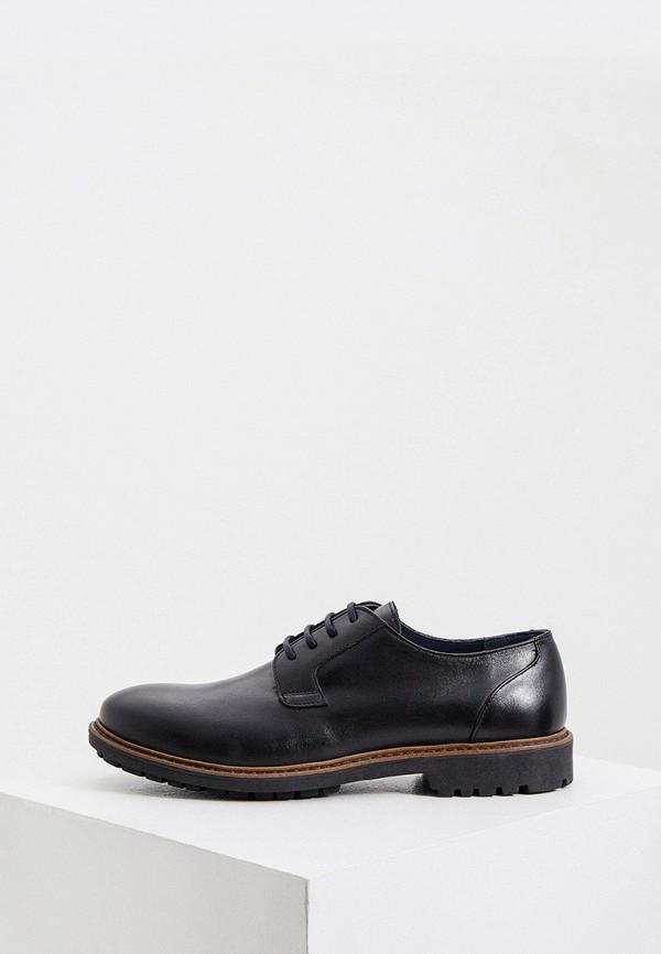 мужские ботинки cerruti 1881, черные