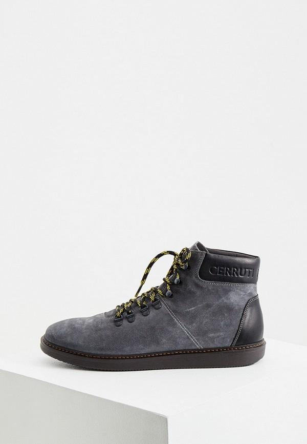 мужские ботинки cerruti 1881, серые
