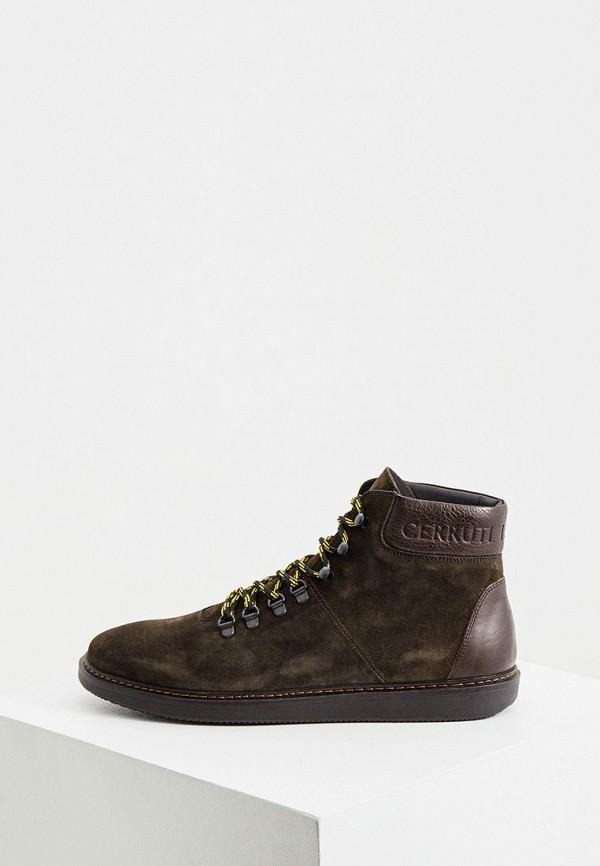 мужские ботинки cerruti 1881, хаки