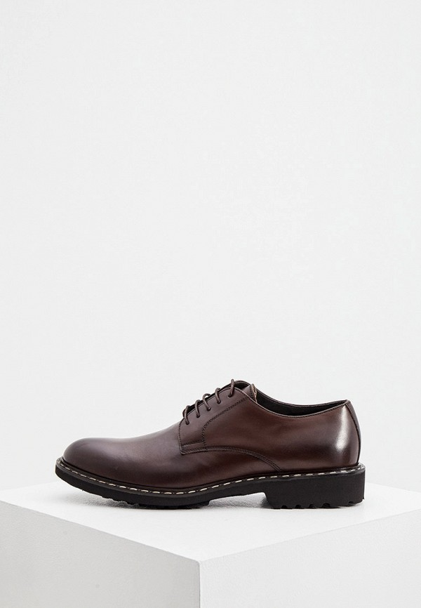 мужские туфли cerruti 1881, коричневые