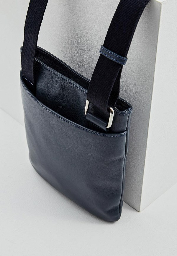 Фото 4 - мужскую сумку Cerruti 1881 синего цвета