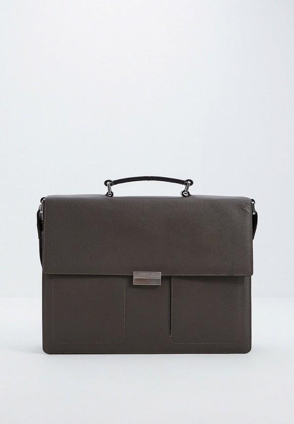 мужской портфель cerruti 1881, серый