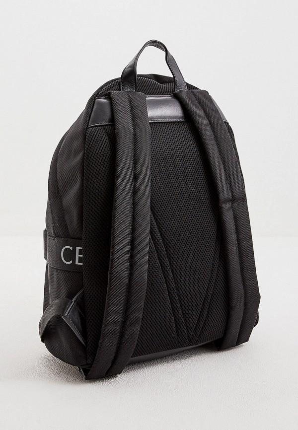 Фото 2 - мужской рюкзак Cerruti 1881 черного цвета