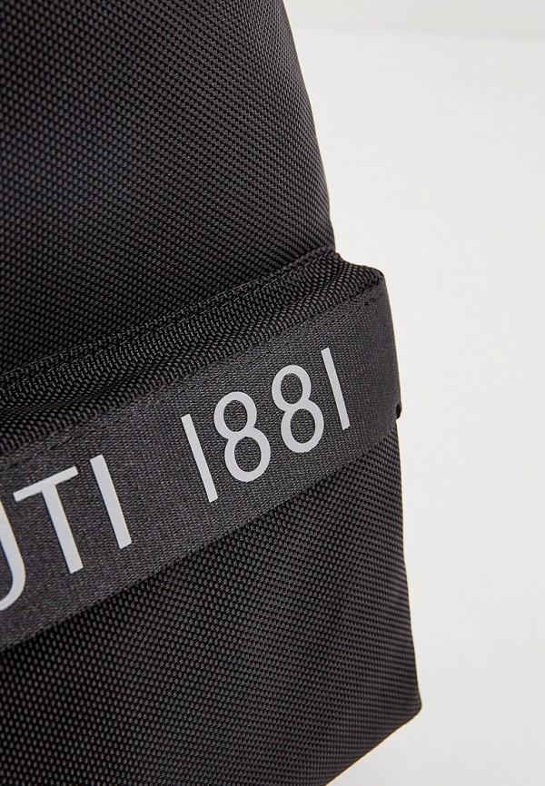 Фото 3 - мужской рюкзак Cerruti 1881 черного цвета
