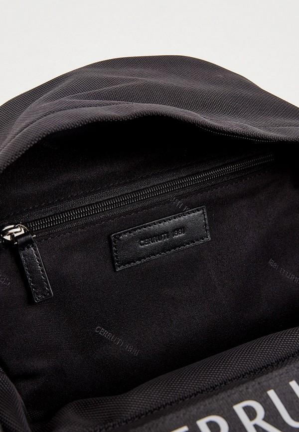Фото 5 - мужской рюкзак Cerruti 1881 черного цвета