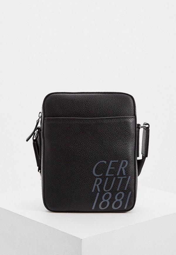 мужская сумка cerruti 1881, черная