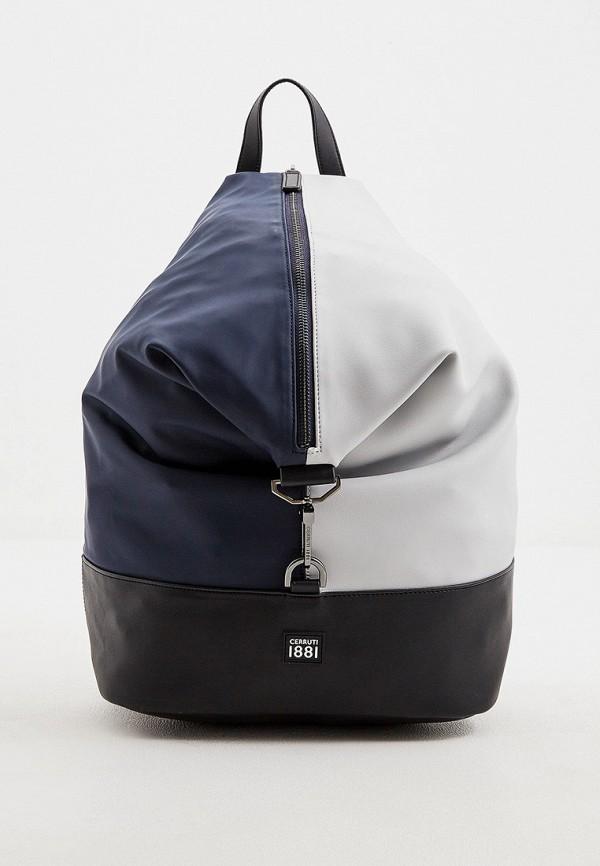мужской рюкзак cerruti 1881, синий
