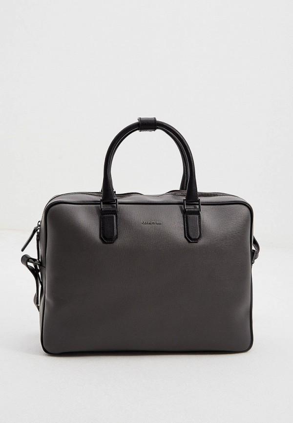 мужская сумка cerruti 1881, серая