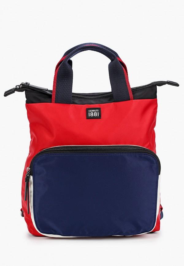 женский рюкзак cerruti 1881, разноцветный