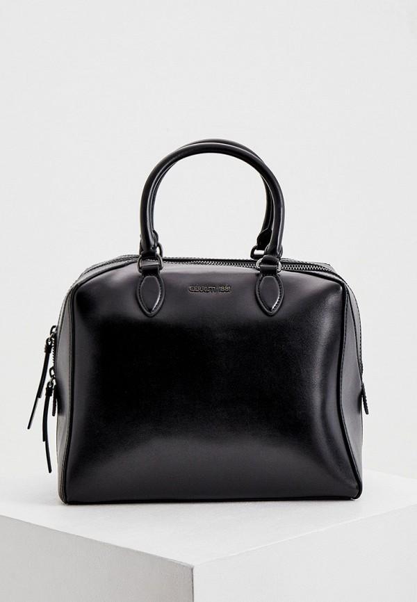 женская сумка cerruti 1881, черная