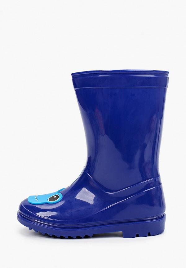 резиновые сапоги chicco для мальчика, синие