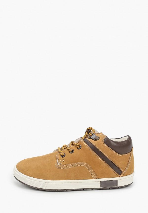 ботинки chicco для мальчика, коричневые
