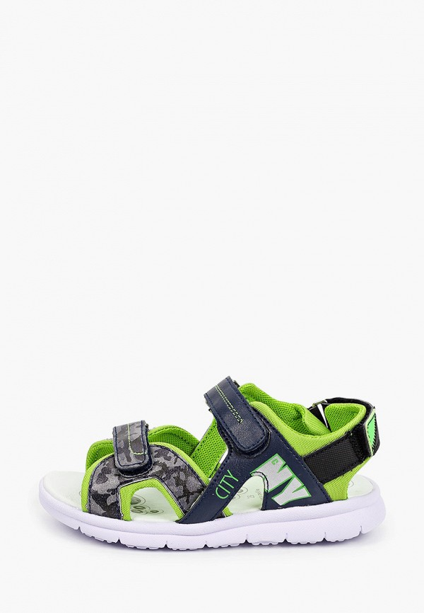 сандалии chicco для мальчика, разноцветные