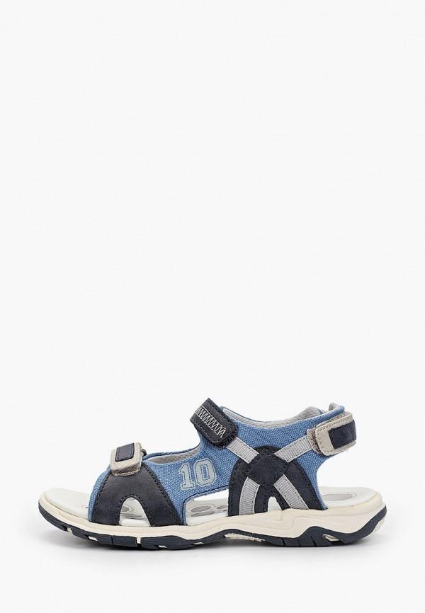 сандалии chicco для мальчика, синие
