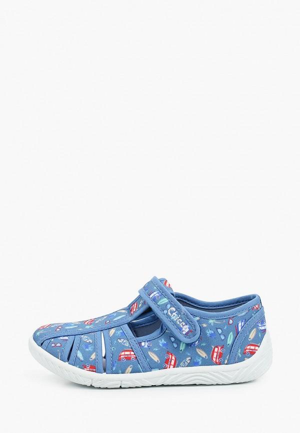 сандалии chicco для мальчика, голубые