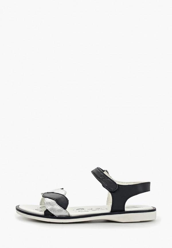 сандалии chicco для девочки, черные